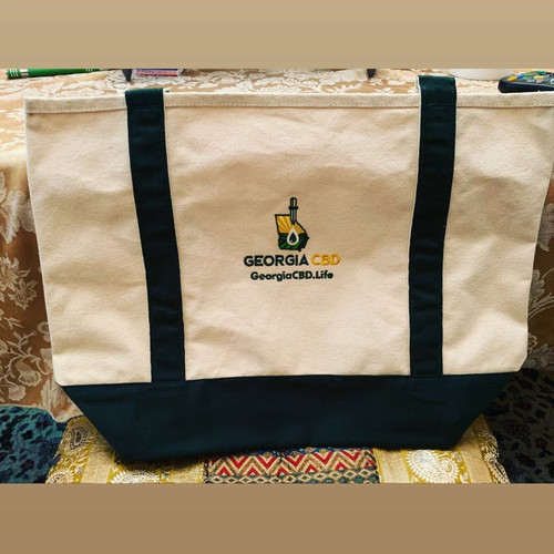 Georgia CBD Heavy Duty Canvas Bag