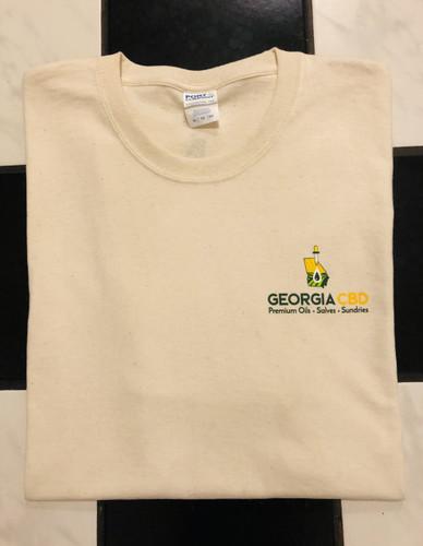 Georgia CBD XXL Cotton T-Shirt
