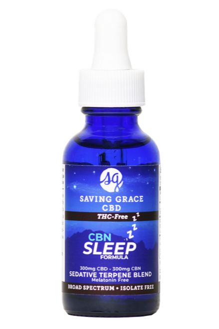 Saving Grace Sleep-THC Free
