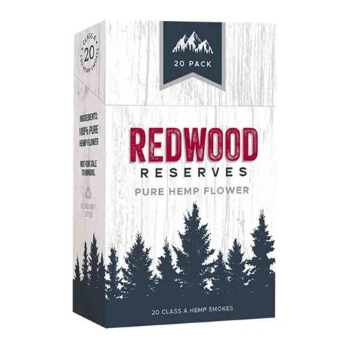 Redwood Reserves Hemp Smokes 20 Pack