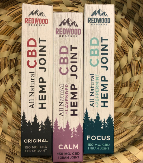 Redwood Reserves CBD Hemp Joint Focus