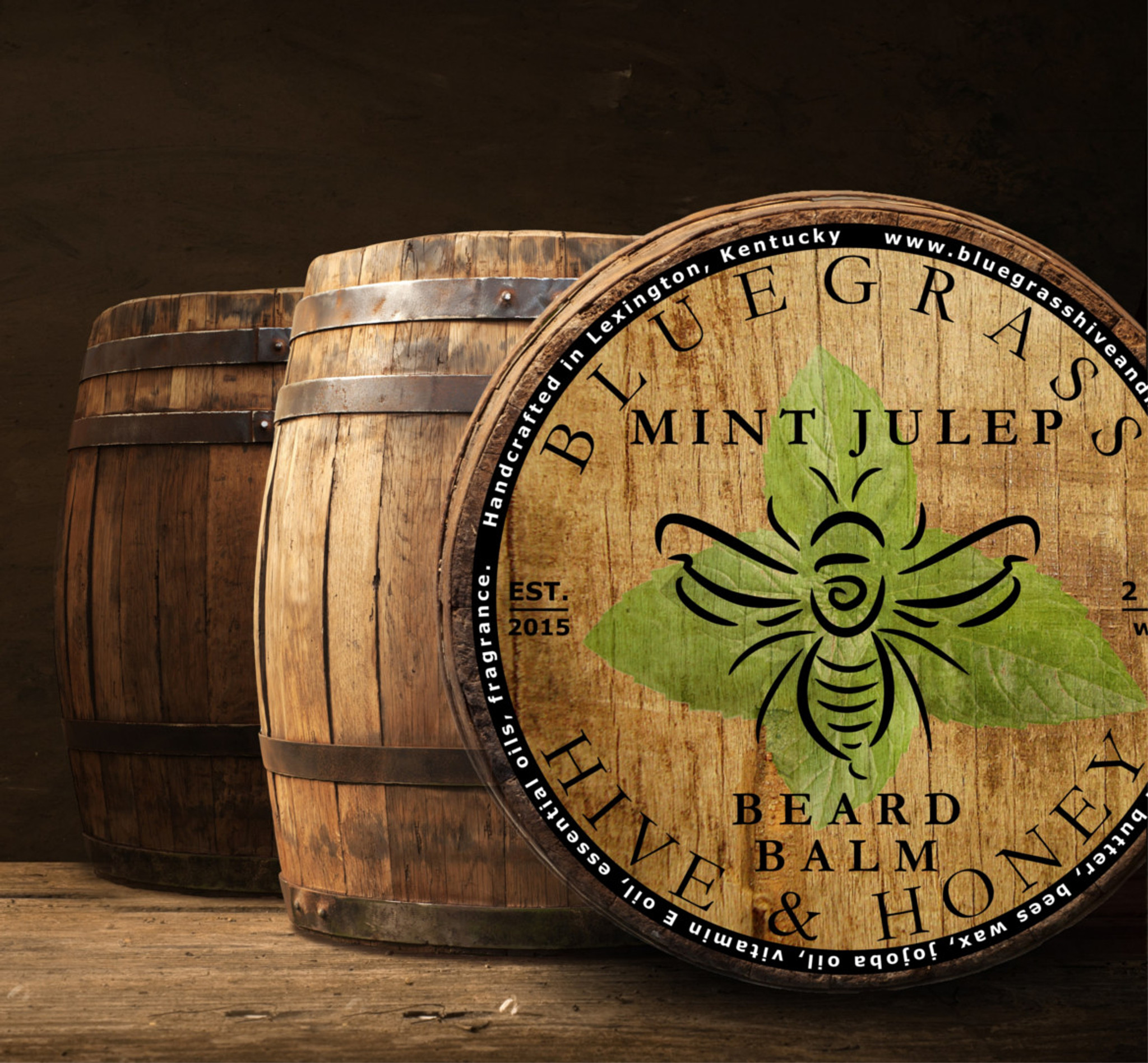Introducing our newest beard balm and beard oil - Mint Julep