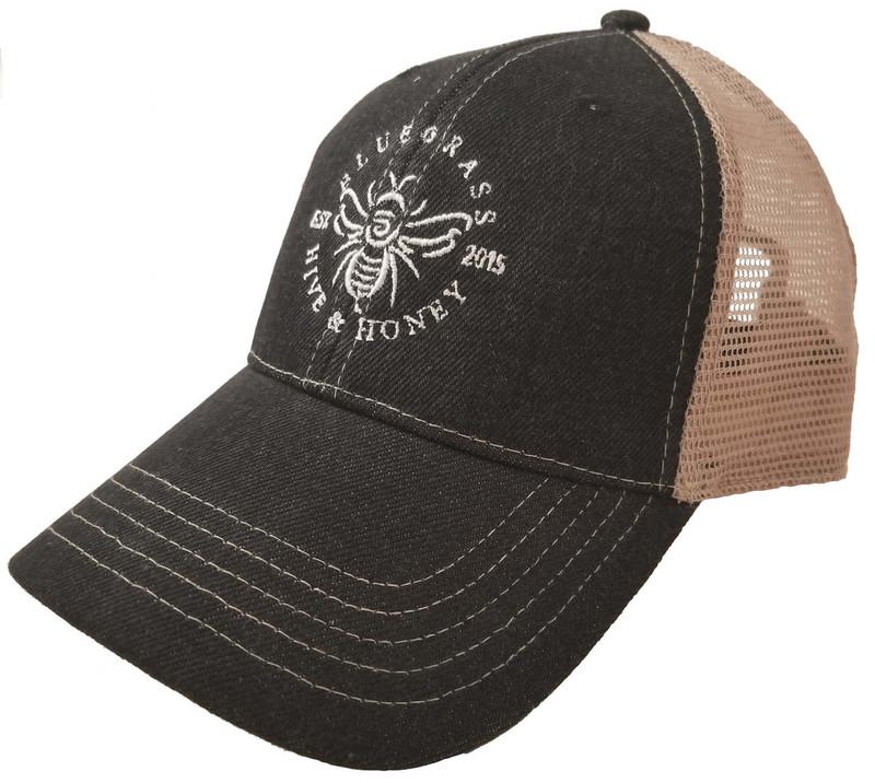 c62803dc2a388a ... Bluegrass Hive & Honey Baseball Cap Angle ...