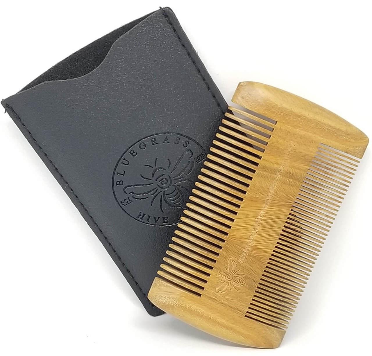 Sandalwood Beard Grooming Comb