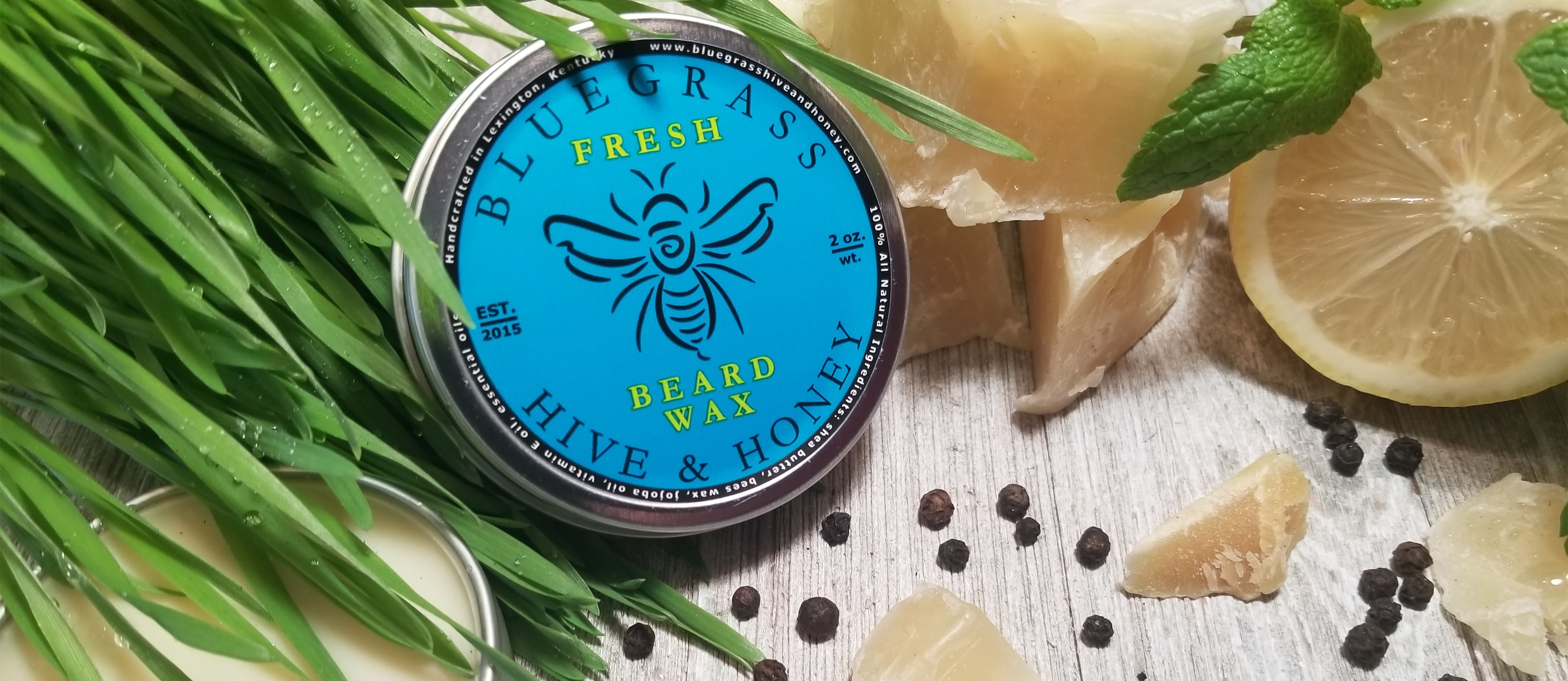 Premium Beard Balms and Waxes Fresh Scent