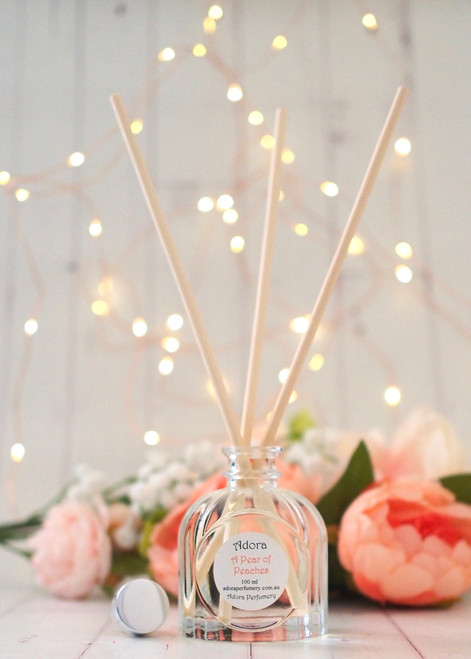 A PEAR of PEACHES ROOM DIFFUSER