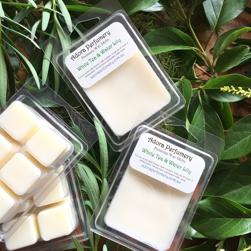 White Tea & Water Lily Soy Wax Melts