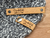 Labels for rivets - Cork fabric labels 0.6x3.5 inches - sold in sets of 25 - Let us customize them for you or use our Designer tool