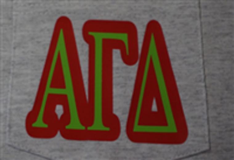 Alpga Gamma Delta pocket T-Shirt