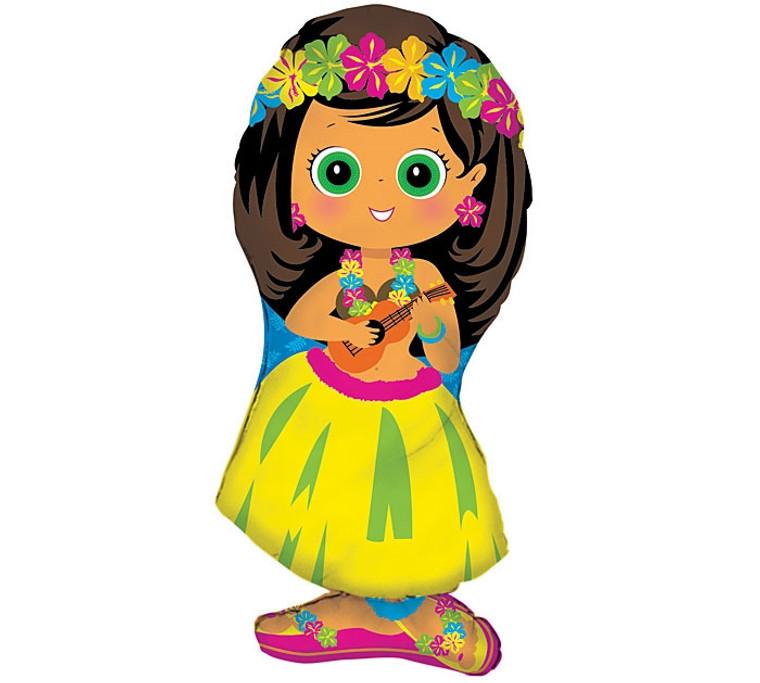 Hawaiian Girl Shape Bouquet