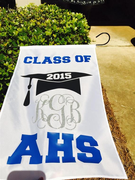 Graduation Garden Sign & Stake