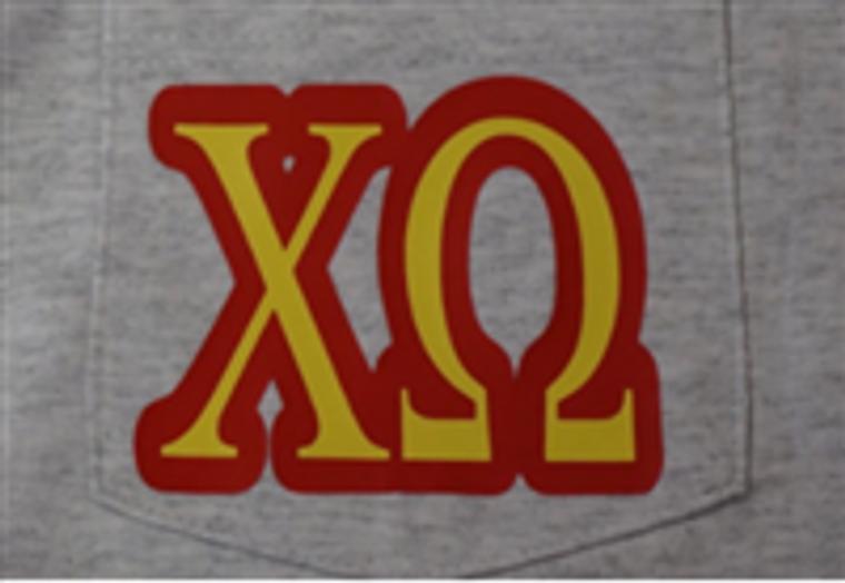 Chi Omega Pocket T-Shirt