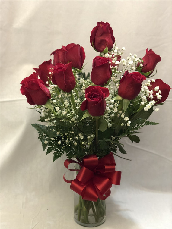 Dozen Rose click for color selections
