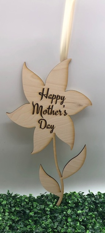 Mother's day DIY Wood Flower
