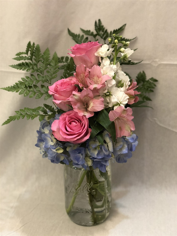 Country  Chick bouquet
