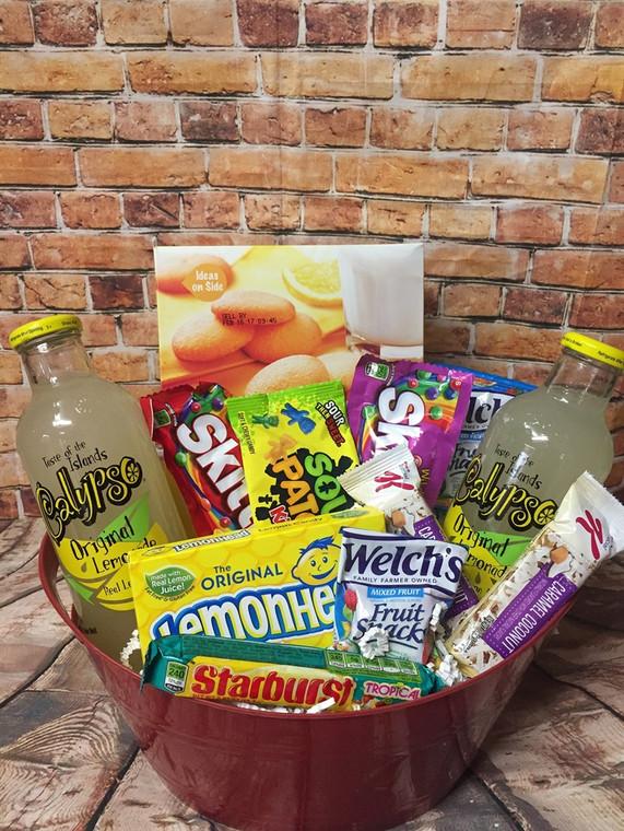 Lemonade Basket