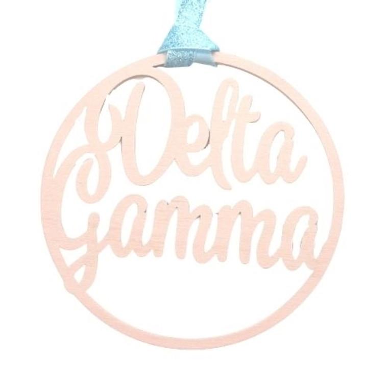 Delta Gamma Door Hanger