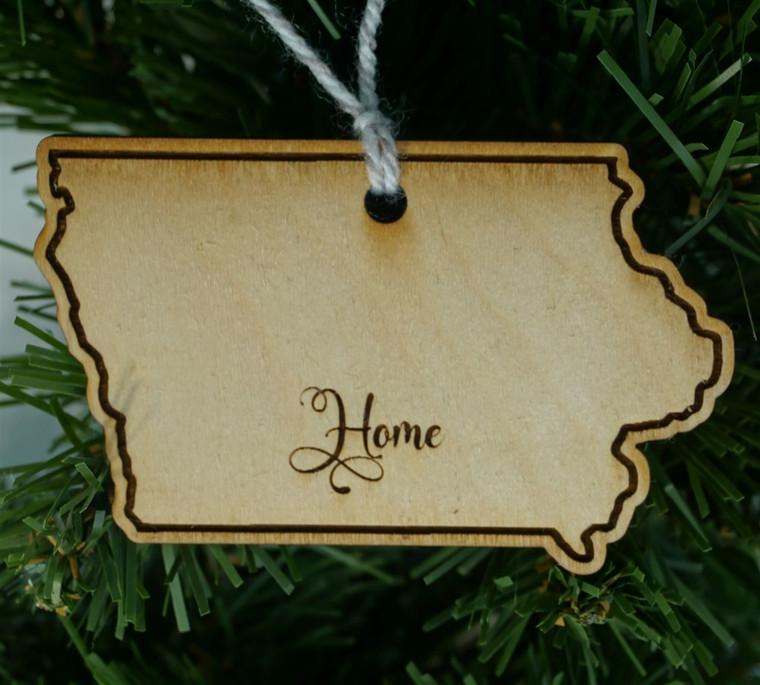 State Ornament  Iowa Home