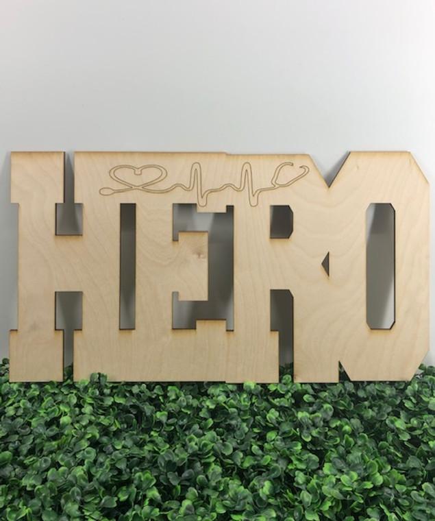 DIY  Hero Wood Door Hanger