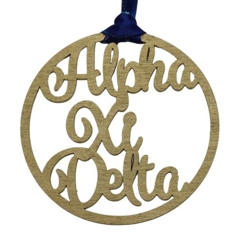Alpha Xi Delta door hanger