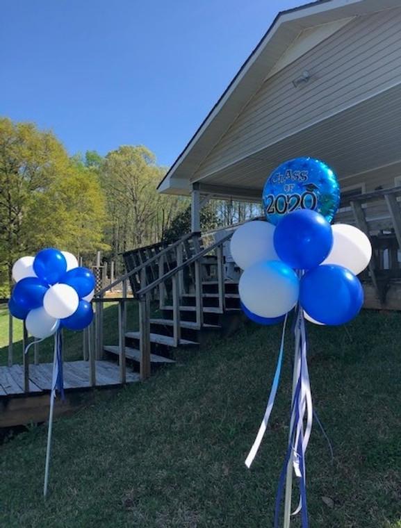 Yard balloon set of 3 graduate style