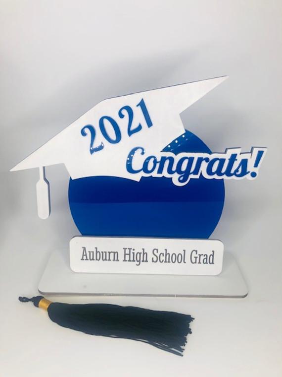 Acrylic Graduation Centerpiece