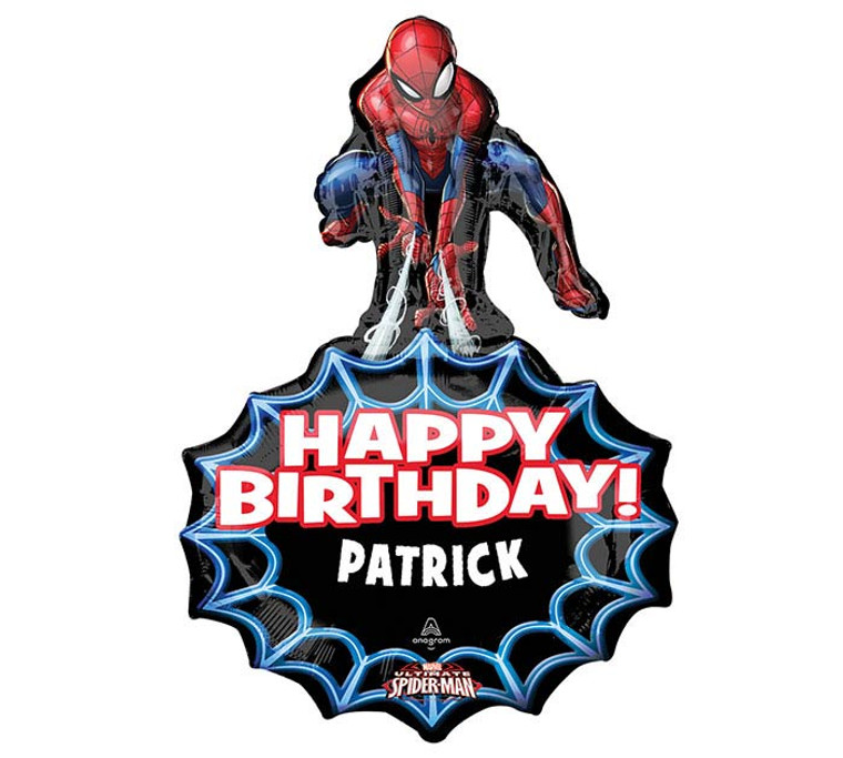 Spider-Man Birthday Bouquet