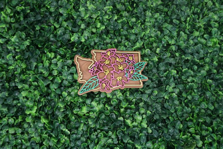 Washington State Flower Ornament/Magnet