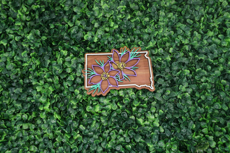 South Dakota State Flower Ornament/Magnet