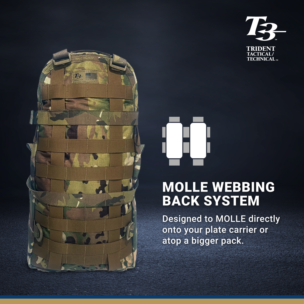 T3 MOLLE Assault Backpack