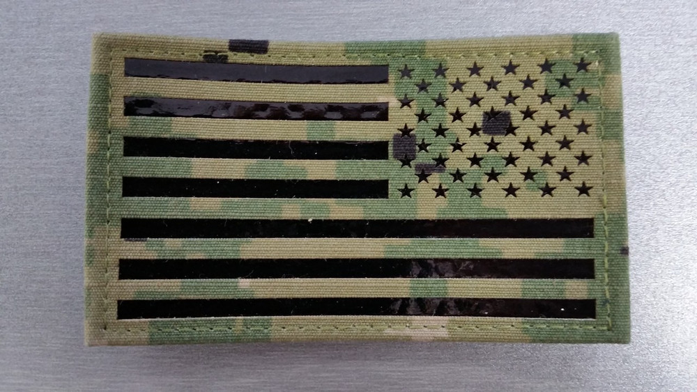 IR American Flag Patch