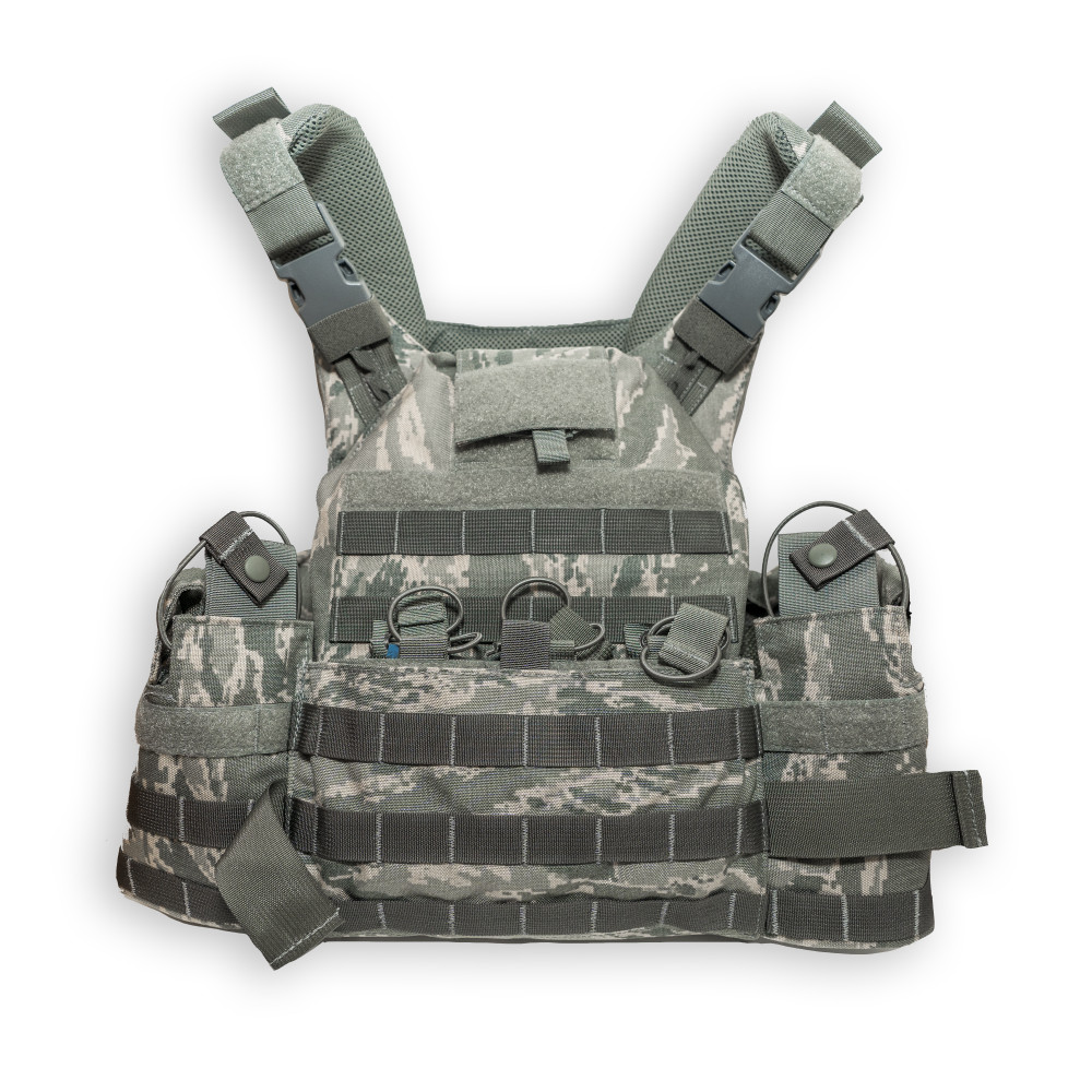 T3 Geronimo 2 Plate Carrier with Quad Release System - ABU Tiger