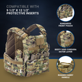 T3 Geronimo 2 Plate Carrier with Quad Release System