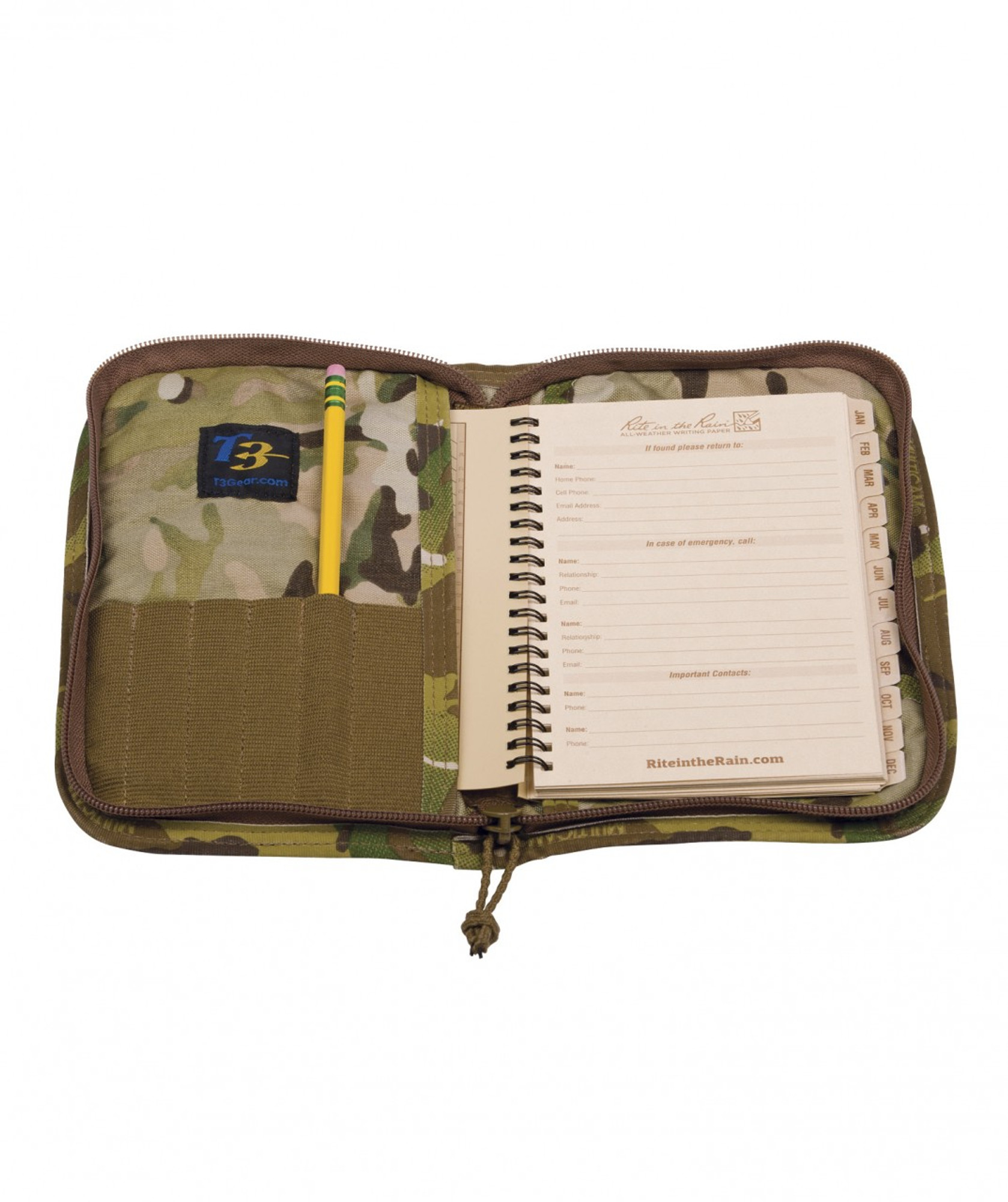 eccb35406e T3 Data Book Cover - T3 Gear