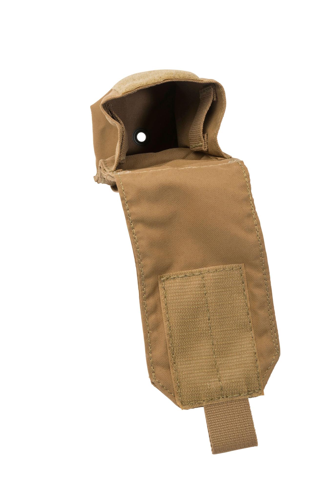 Coyote Tan MOLLE T3-SGP 1 NEW T3 Gear Single Smoke Grenade Pouch