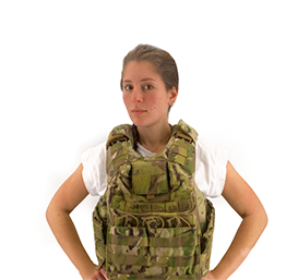 Female Cut G3 Quad Release Plate Carrier