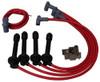 MSD Ignition Spark Plug Wire Set 1992-2000 Honds Civic 1.6L W/Tower Cap 35359