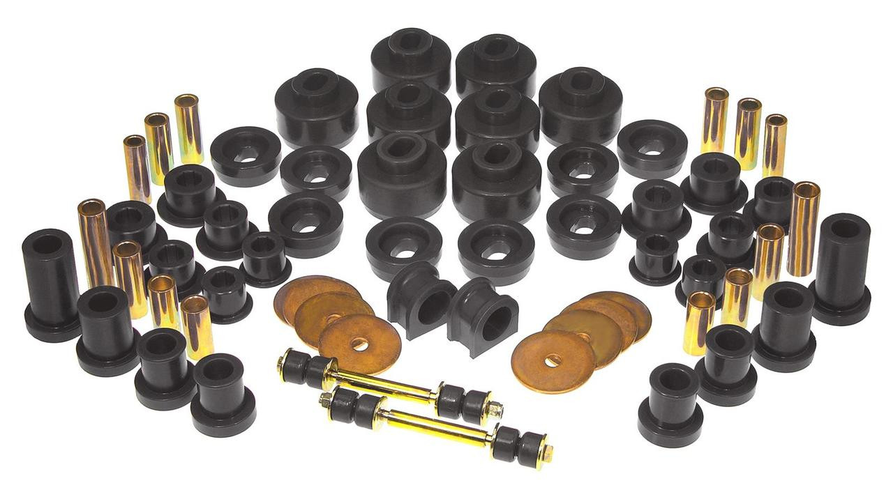 Set of 24 Pcs 7-141 Body and Cab Mount Bushing Kit Black Fits For 1999-2014 Chevy Silverado GMC Sierra 2WD//4WD