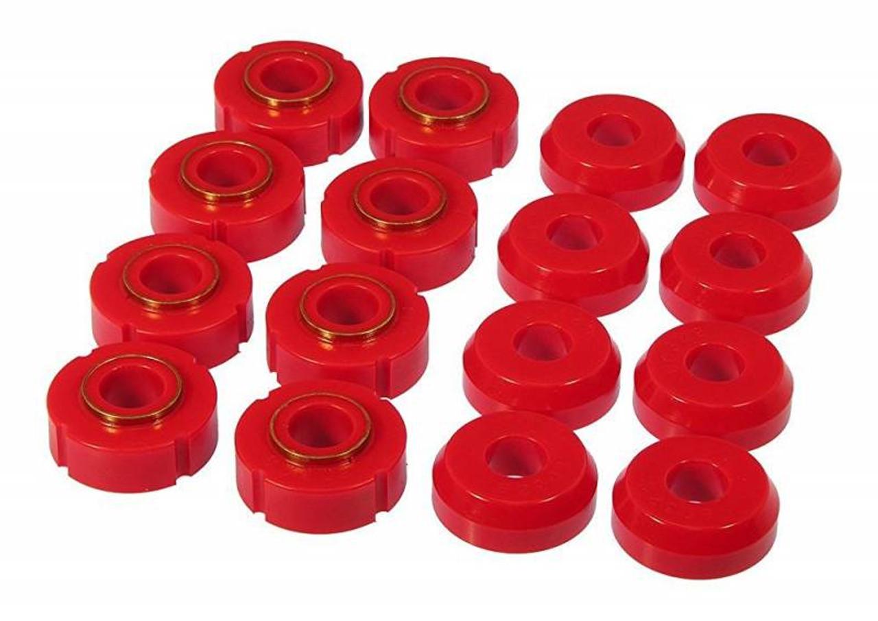 Prothane 6-111 Red IRS Subframe Bushing Kit