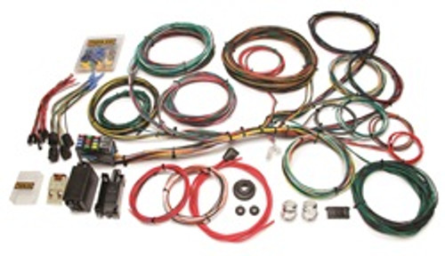 painless wiring 10150 21 circuit direct fit jeep cj harness 10150 Painless Wiring Harness
