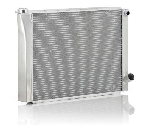 BE Cool Aluminum Circle Track Dual Pass Radiator 28 X 19 2 Row 35029