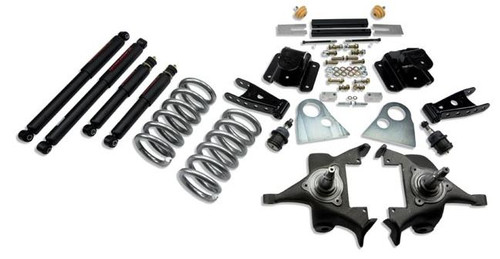 "Belltech Lowering Kit W/Shocks 3"" Front/4"" Rear 1994-1999 Dodge Ram 1500 Ext Cab 820ND"