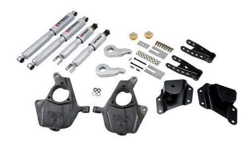 "Belltech Lowering Kit 3-4"" Front/4"" Rear 2005-2007 Chevy/GMC Silverado Sierra 1500 RWD Std Cab 656SP"