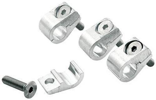 "Allstar Performance Aluminum Universal Line Clamps 3/8"" 18323 ALL18323"