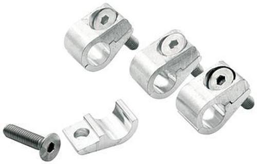 "Allstar Performance Aluminum Universal Line Clamps 5/16"" 18322 ALL18322"