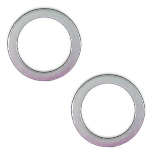 "Remflex Exhaust Gaskets 2 1/8"" Pipe Ring Style Universal Flange Collector Pair 8022"