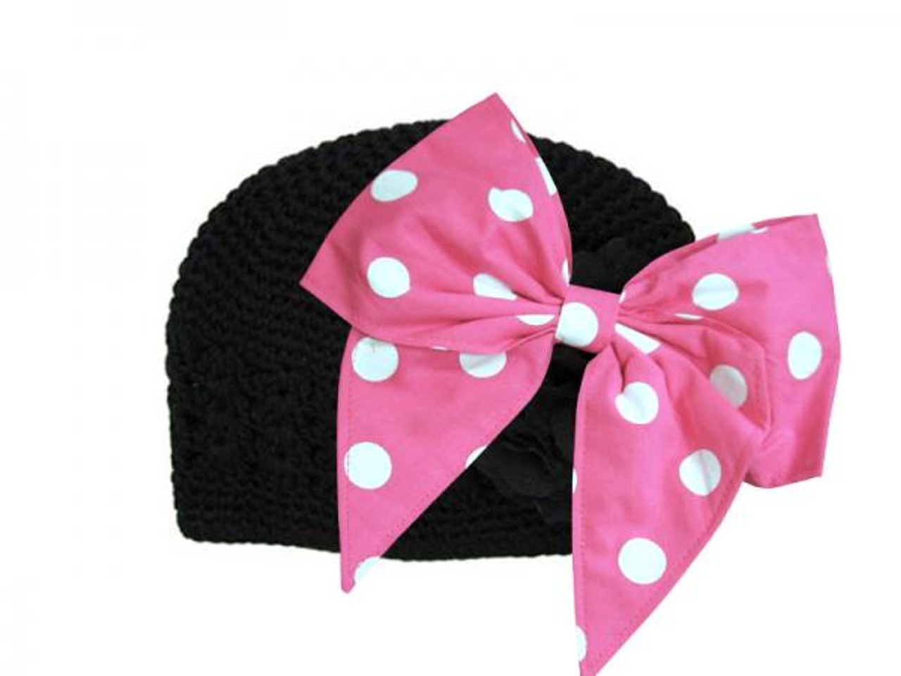 Pale Pink Bow-Rae-Mi Sun Hats with Candy Pink Bow-Rae-Mi Jamie Rae Hats