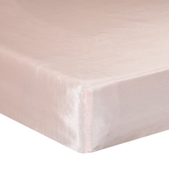 Lil Princess Collection Mini Fitted Crib Sheet - Pink by Glenna Jean