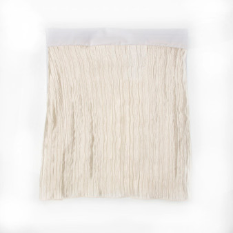"""Lil' Princess Collection Full Bed Skirt (Creamy Crinkle) 16"""" Drop"""