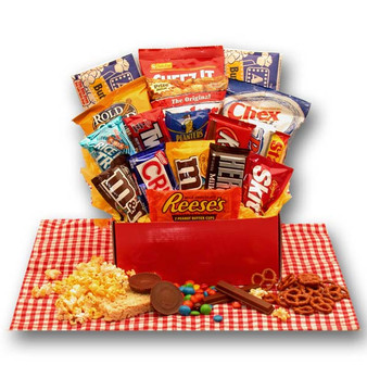 All American Favorites Snack Care Package for Any Occasion